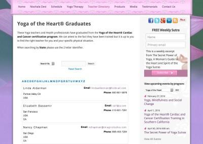 Teacher/Graduate Directory